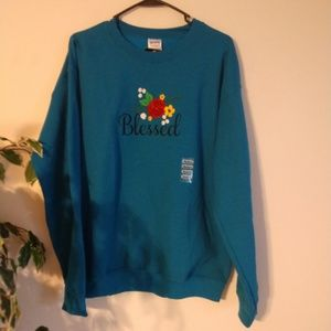 Blessed sweatshirt NWT size M
